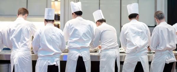 Chef personale la brigata di cucina the xerendipity - Brigata di cucina ...